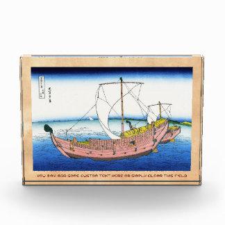 El katsushika Hokusai Fuji de la ruta de mar de Ka