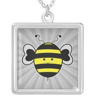 el kawaii lindo manosea la abeja collares personalizados