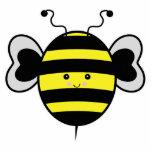 el kawaii lindo manosea la abeja esculturas fotograficas