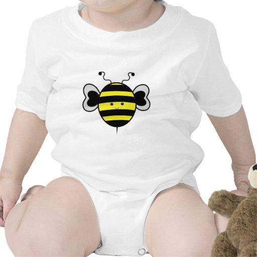 el kawaii lindo manosea la abeja trajes de bebé