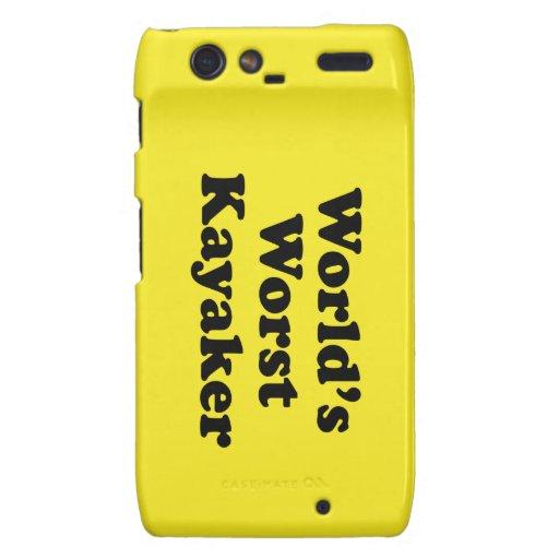 El Kayaker peor del mundo Motorola Droid RAZR Carcasas