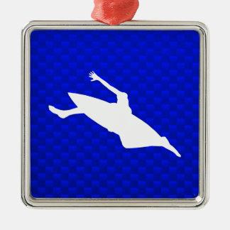 El Kayaking azul Adorno Para Reyes