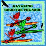 El Kayaking bueno para el alma Esculturas Fotograficas