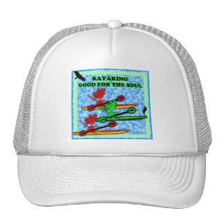El Kayaking bueno para el alma Gorras