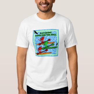 El Kayaking bueno para el alma Poleras