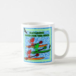 El Kayaking bueno para el alma Tazas