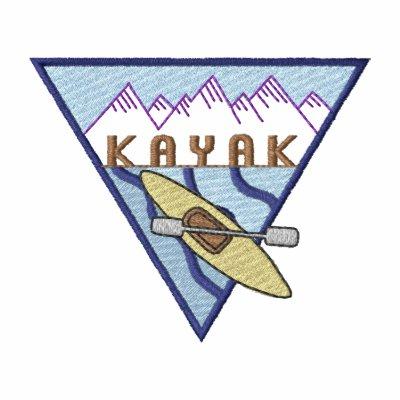 El Kayaking Chaqueta Bordada De Entrenamiento