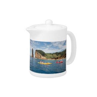 El Kayaking en Azores