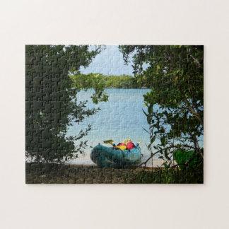 El Kayaking en el rompecabezas de Santo Tomás