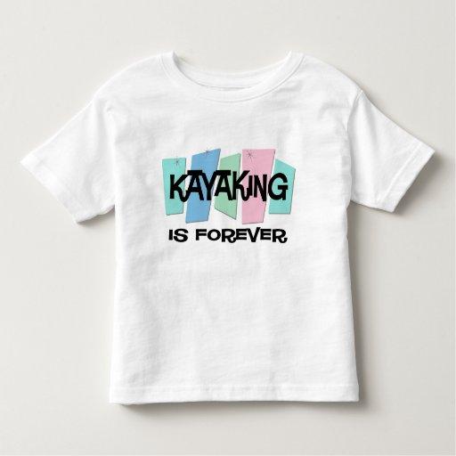 El Kayaking es Forever Playera