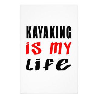 El Kayaking es mi vida Papelería De Diseño
