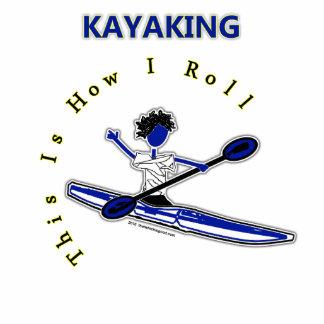 El Kayaking esto es cómo ruedo Adorno Fotoescultura