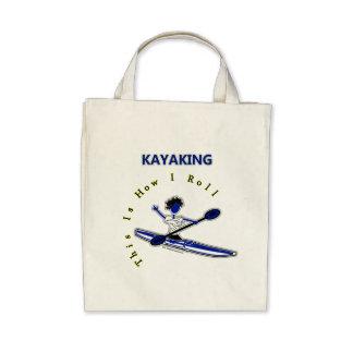 El Kayaking esto es cómo ruedo Bolsa