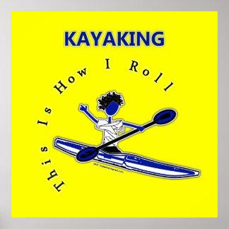 El Kayaking esto es cómo ruedo Impresiones