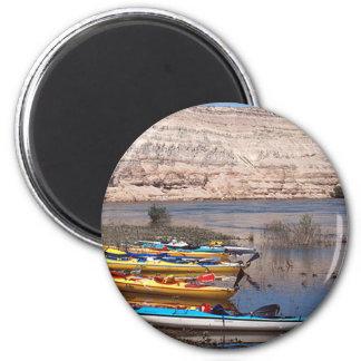 El Kayaking Imán Redondo 5 Cm