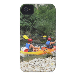 El Kayaking iPhone 4 Case-Mate Cárcasa