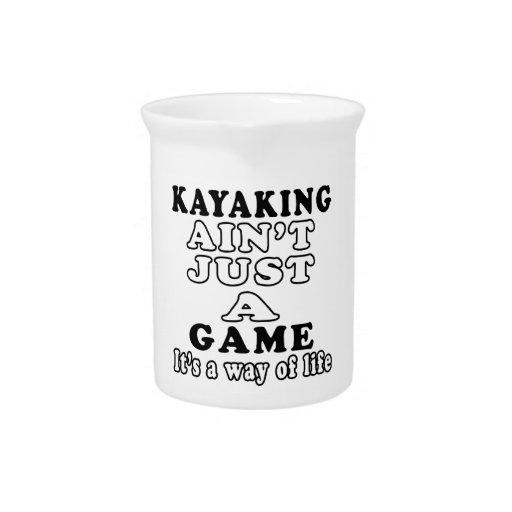 El Kayaking no es apenas un juego que es una maner Jarron