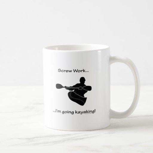 El Kayaking que va del trabajo del tornillo… Tazas