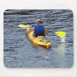 El Kayaking rio abajo Alfombrilla De Raton
