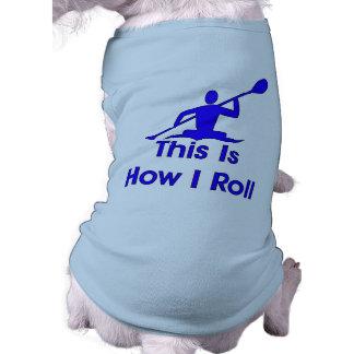 El Kayaking Camisetas De Perro