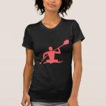 El Kayaking - rosa tropical Camisetas