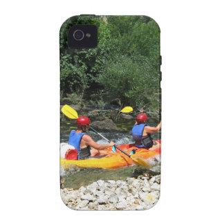 El Kayaking Vibe iPhone 4 Fundas