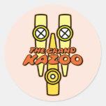El Kazoo magnífico Etiqueta Redonda