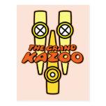 El Kazoo magnífico Postal