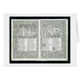 """El """"Kelmscott Chaucer"""", publicado 1896 por el Kel Tarjeton"""