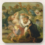 El Kermesse, detalle de los campesinos que bailan, Posavasos