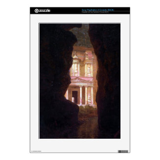 El Khasne, Petra by Frederic Edwin Church Skins For PS3 Console
