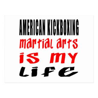 El kickboxing americano es mi vida postales