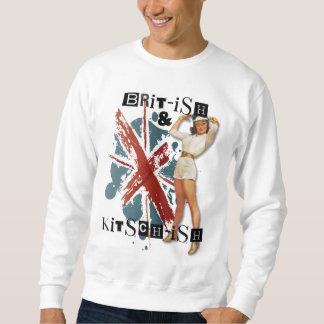 El kitsch Bitsch: Británicos y Pin-Para arriba del Sudadera Con Capucha