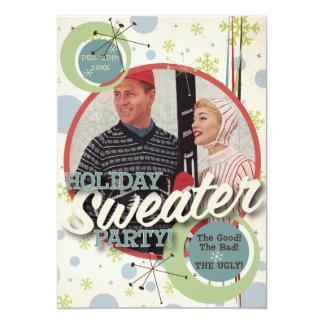 El kitsch Bitsch: ¡Fiesta del suéter del día de Invitación 12,7 X 17,8 Cm