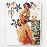 El kitsch Bitsch: ¡Hawaiana Oops! Alfombrilla De Ratón