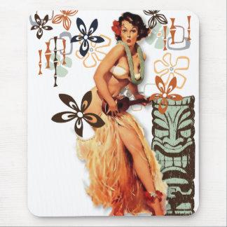 El kitsch Bitsch: ¡Hawaiana Oops! Tapetes De Raton