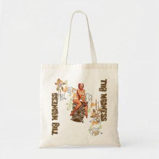 El kitsch Bitsch: La diosa de Tiki Bolsa Tela Barata