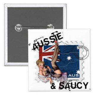 El kitsch Bitsch: Pin-Para arriba australiano y de Pin Cuadrado