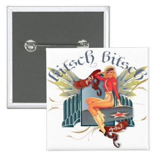 El kitsch Bitsch: Pin-Para arriba del tatuaje del  Pin Cuadrado