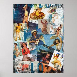 El kitsch Bitsch: Pin-Para arriba destruido No.2 d Posters
