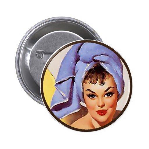 El kitsch BItsch: Retratos Pin-Para arriba Pin Redondo 5 Cm