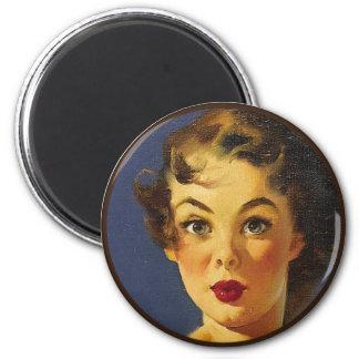 El kitsch BItsch: Retratos Pin-Para arriba Imanes