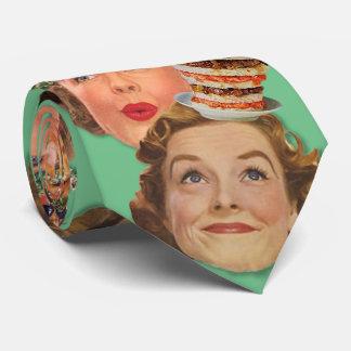 El kitsch Bitsch: Señoras Disembodied del kitsch Corbatas Personalizadas