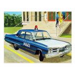 El kitsch retro 60s del vintage captura el crucero tarjetas postales