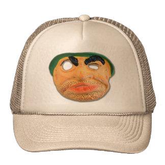 El kitsch retro 60s del vintage embroma la máscara gorro