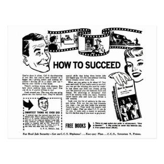 El kitsch retro del vintage cómo tener éxito postales