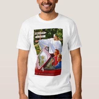 El kitsch retro Jesús del vintage señala la manera Remeras