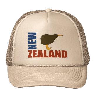 El kiwi de Nueva Zelanda protagoniza el gorra