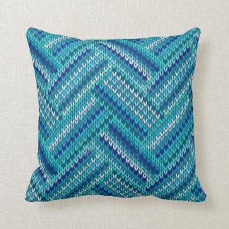 el kniting cojín decorativo