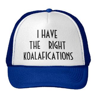 El Koalafications derecho Gorra